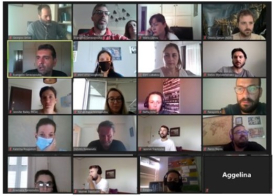 First APCG virtual meeting after the lockdown!