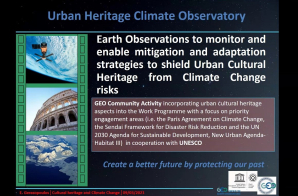 GGO participates in the Cultural Heritage and Climate Change webinar