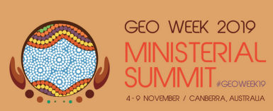 Find us at the exhibition stands of the GEO Ministerial Summit in Canberra, Australia